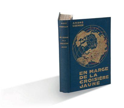 ANDRÉ GEORGER En marge de la Croisière jaune Paris, Les Éditions Rieder, 1935 Exemplaire...