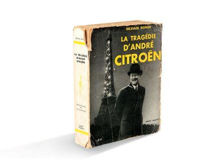 ANDRE CITROËN Portrait Signé et daté d'octobre 1928 dans la planche Encadré. Etat...