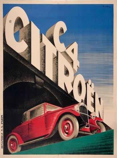PIERRE LOUŸS Citroën C6 Affiche originale...
