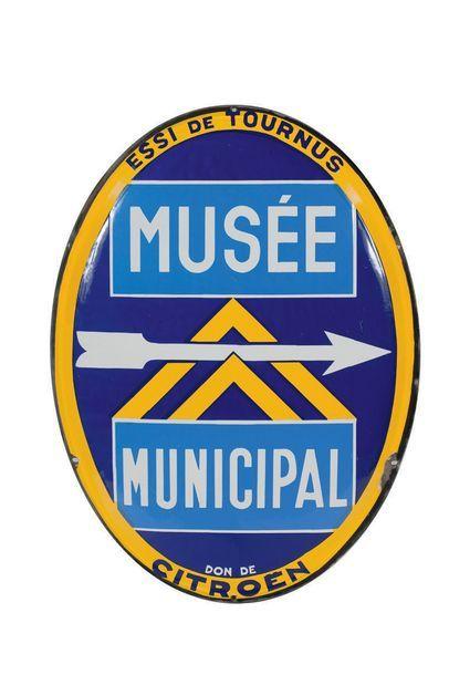 CITROËN Musée municipal de Tournus Plaque...