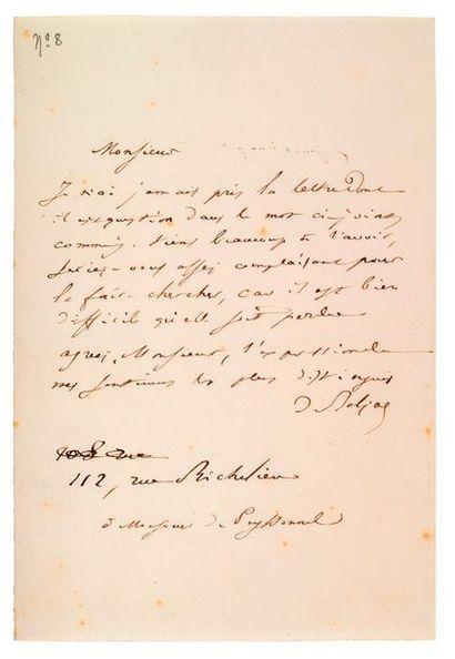 BALZAC (Honoré de). 1799-1850.<br/>Ecrivain
