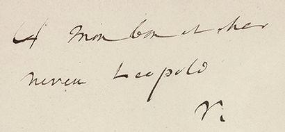 HUGO (Victor) Mes fils. Paris, Michel Lévy, 1874. In-8, demi-maroquin bleu nuit à...