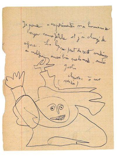 CHAISSAC (Gaston). 1910-1964.<br/>Poète et artiste