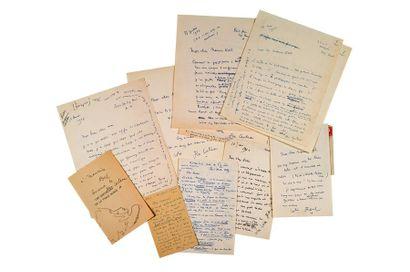 COCTEAU (Jean). 1889-1963.<br/>Ecrivain poète, artiste