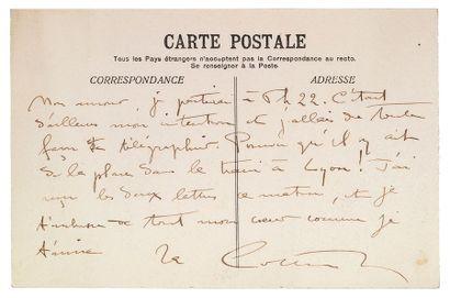 COLETTE (Sidonie Gabrielle). 1873- 1954.<br/>Femme de lettres