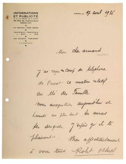 DESNOS (Robert). 1900-1945.<br/>Ecrivain poète