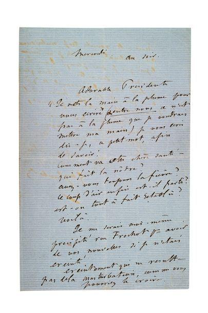 FLAUBERT (Gustave). 1821-1880.<br/>Ecrivain