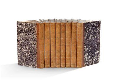 ROUSSEAU (Jean-Jacques) OEuvres complètes. Paris, Dalibon, 1825- 1827. 27 volumes...