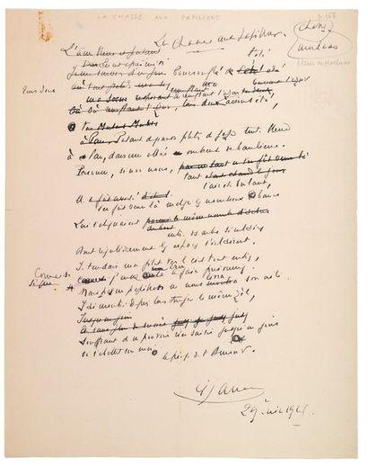 JAMMES (Francis). 1868-1938.<br/>Ecrivain poète