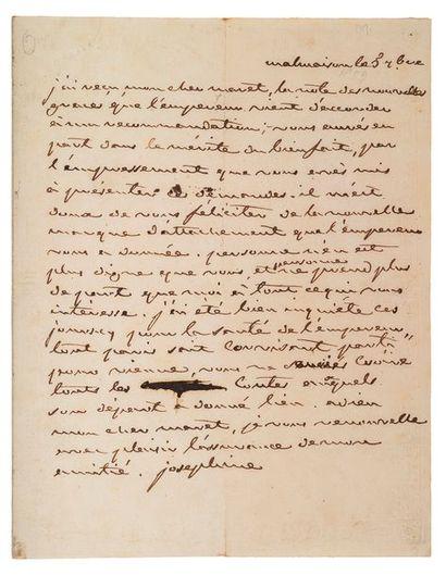 JOSEPHINE de Beauharnais. 1763- 1814.<br/>Impératrice des français, épouse de Napoléon