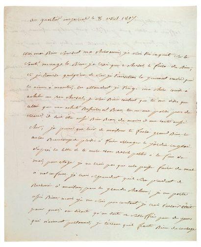LANNES (Jean). 1769-1809.<br/>Maréchal d'Empire, duc de Montebello