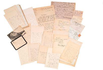 [LITTERATURE]. Correspondance du poète et...