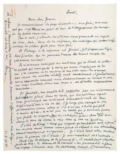 MAGRITTE (René). 1898-1967.<br/>Artiste peintre surréaliste