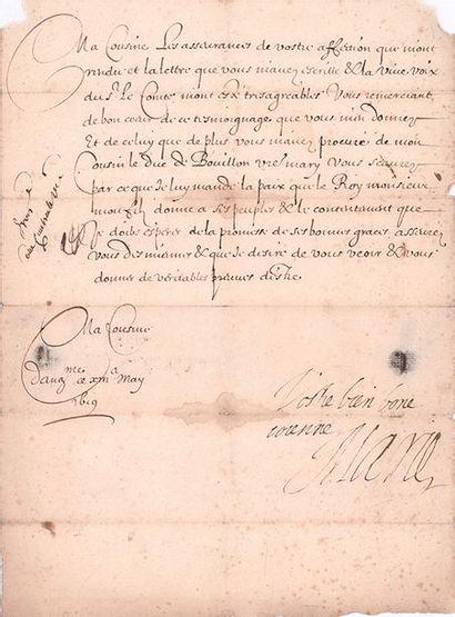 MEDICIS (Marie de). 1573-1642.<br/>Reine de France par son mariage avec Henri IV en 1600