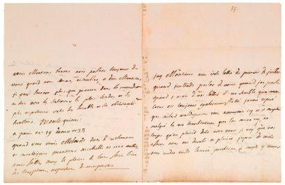 MONTESQUIEU (Charles-Louis de Secondat de). 1689-1755.<br/>Ecrivain philosophe