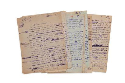 MONTHERLANT (Henri de). 1895-1972.<br/>Ecrivain