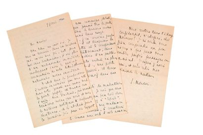 MOUNIER (Emmanuel). 1905-1950.<br/>Ecrivain philosophe