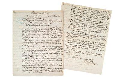 PROUDHON (Pierre-Joseph). 1809-1865.<br/>Ecrivain socialiste