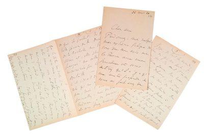 PROUST (Marcel). 1871-1922.<br/>Ecrivain