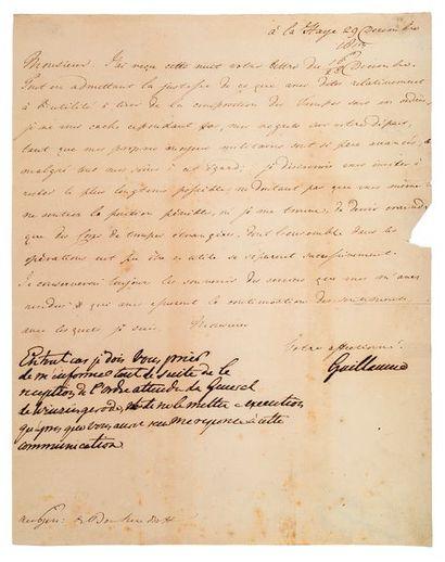 FREDERIC-GUILLAUME II de Prusse. 1797-1840