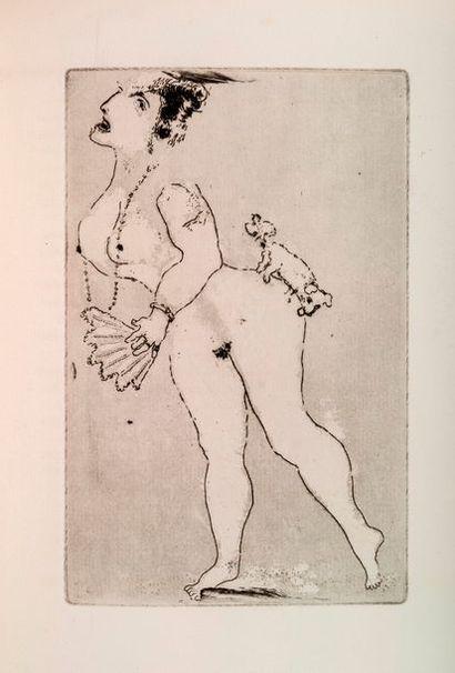CHAGALL (Marc) - GIRAUDOUX (Jean) Les sept péchés capitaux. Paris, Kra, 1926. In-4,...