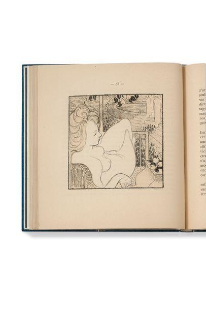DENIS (Maurice) - GIDE (André) Le Voyage d'Urien. Paris, Librairie de l'Art Indépendant,...