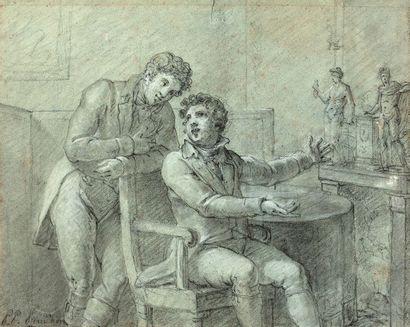 ENTOURAGE DE PIERRE PAUL PRUD'HON (CLUNY 1758 - PARIS 1823)