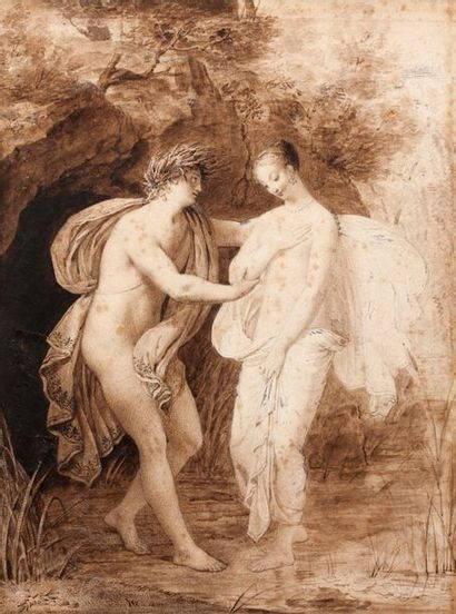 ALEXANDRE-EVARISTE FRAGONARD (GRASSE 1780 - PARIS 1850)