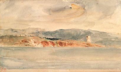 EUGÈNE DELACROIX (CHARENTON SAINT-MAURICE 1798 - PARIS 1863)