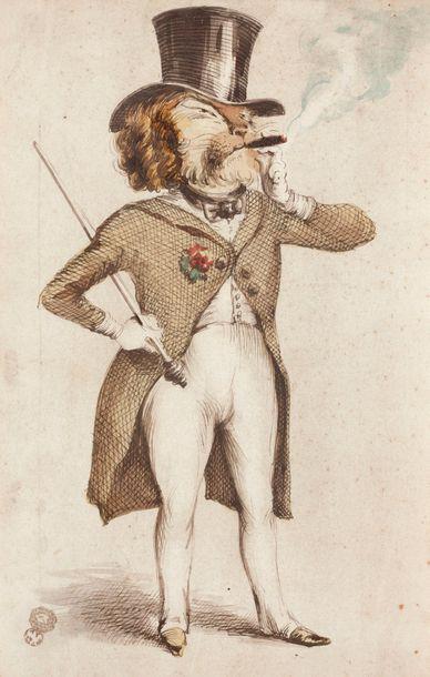 JEAN IGNACE ISIDORE GRANDVILLE (NANCY 1803 - VANVES 1847)