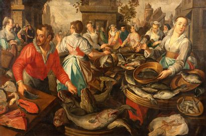 ATTRIBUÉ À JOACHIM BEUCKELAER (ANVERS 1533 - VERS 1574)