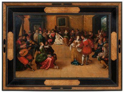 HIERONYMUS FRANCKEN II (ANVERS 1578 - 1623)