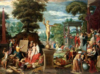 DAVID I TENIERS DIT LE VIEUX (ANVERS 1582 - 1649)