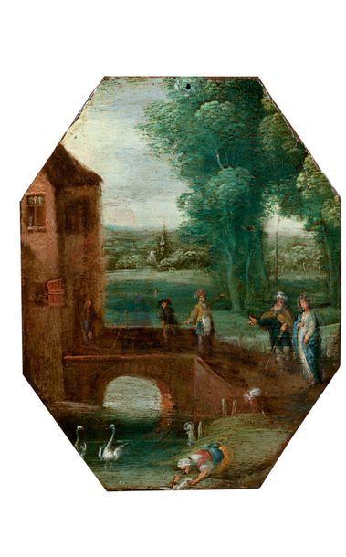 IZAACK VAN OOSTEN (ANVERS 1613 - 1661)