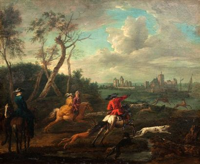 ATTRIBUÉ À JEAN BAPTISTE WEENIX (AMSTERDAM 1621 - DOETINCHEM 1659)