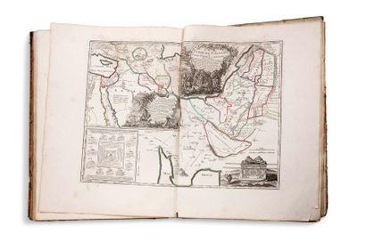 [ATLAS]. [VAUGONDY (Robert)] Atlas d'étude...