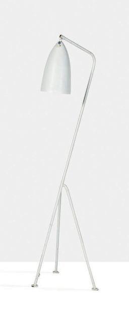 GRETA MAGNUSSON GROSSMAN (1906-1999) Lampadaire G33 dit Grasshopper Métal, laiton,...