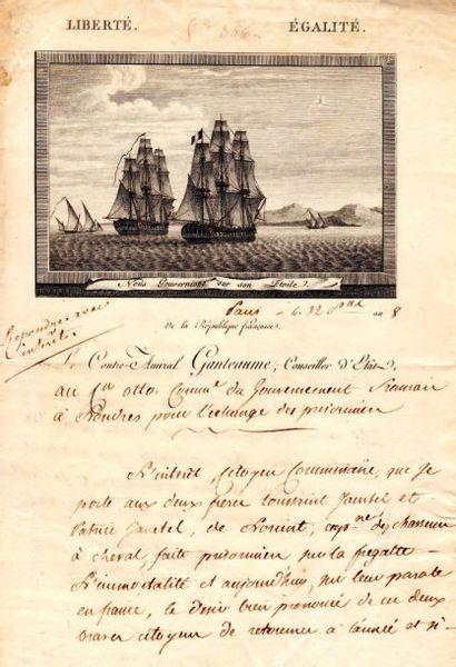 Honoré GANTEAUME (1755-1818) amiral, il s'illustra en Égypte.