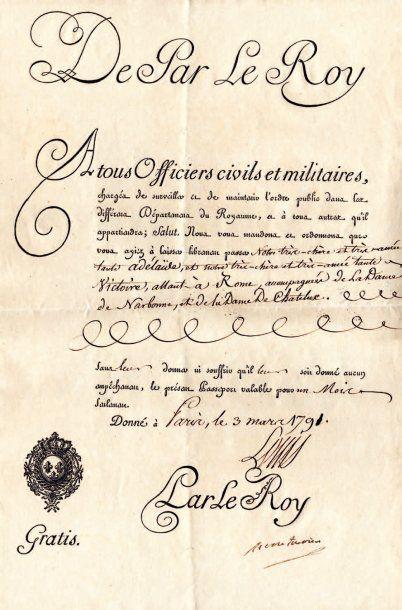 [MESDAMES, filles de Louis XV].