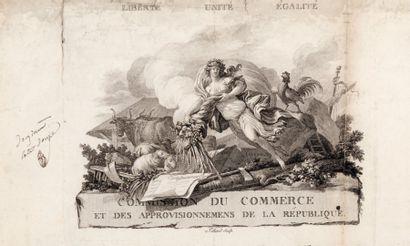 VIGNETTE. COMMISSION DU COMMERCE. P.S. par...