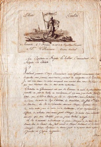 Silvestre de VILLENEUVE (1763-1806) vice-amiral, adversaire malheureux de Nelson à Aboukir et Trafal
