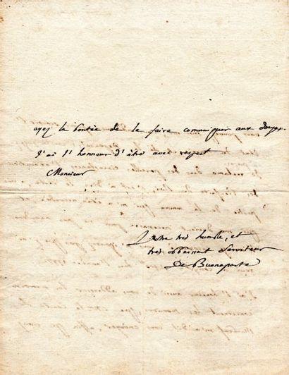 Charles BONAPARTE (1746-1785) père de Napoléon.