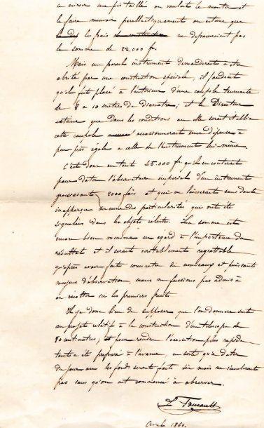 Léon FOUCAULT (1819-1868) physicien, il démontra la rotation de la Terre.