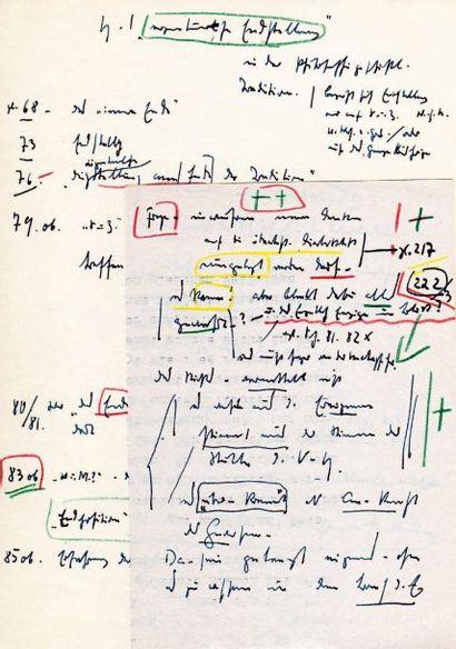 Martin HEIDEGGER (1889-1976) philosophe.