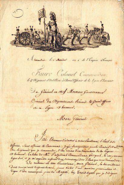Chrétien-François FAURE DE GIÈRE (1769-1813) général d'artillerie.