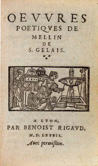 SAINT-GELAIS (M. de)