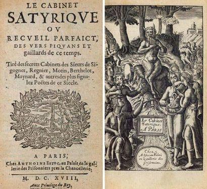 [...]. Le Cabinet satyrique ou recueil parfaict...