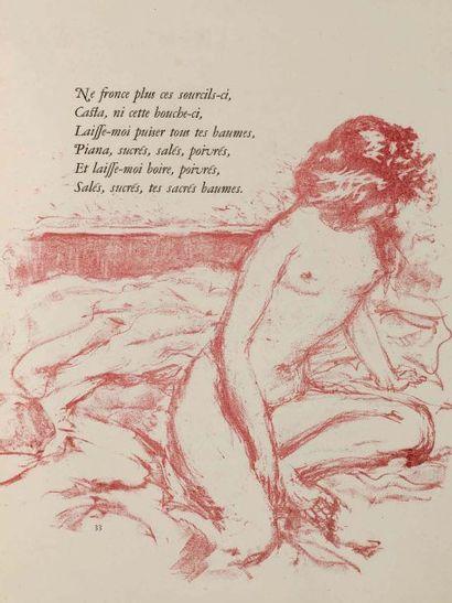 [...]. Parnasse des plus excellents poetes...