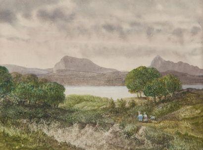 George SAND (1804 -1876)  Deux jeunes gens...