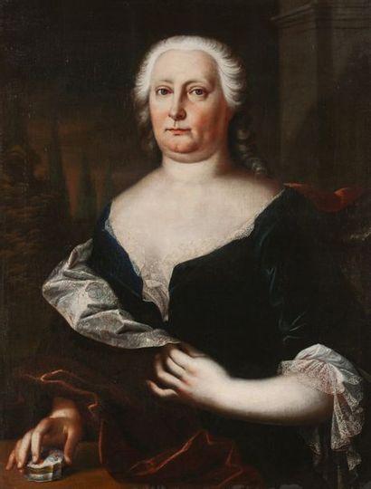 Ecole du NORD du XVIIIe siècle  Portrait...